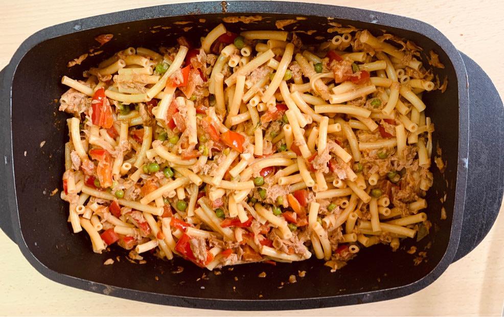 Pasta-Thunfischtopf
